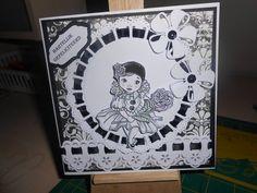Marianne Design, Paracord, Crafty, Black And White, Paper, Birthday, Handmade, Leprechaun, Children