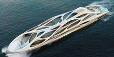 Dynamic Superyachts by Zaha Hadid