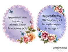 Delicate floral inserts 5 on craftsuprint designed by christine hart verse inserts 1 bookmarktalkfo Image collections