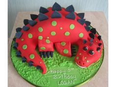 Image result for dinosaur birthday cakes