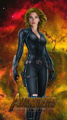 Black Widow (Infinity War) by Jacobseesaliens