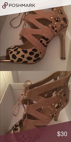 Dolce vita cheetah heels size 7 New without box Dolce Vita Shoes Heels