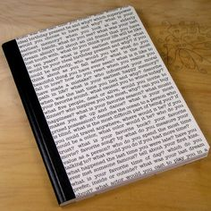 Creative Writing Journal Covered with Writing Prompts