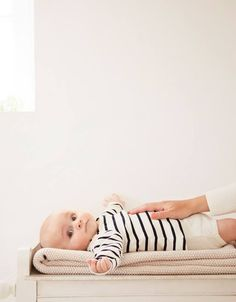 This breton stripe unisex baby collection is made from 100% cotton, bringing softness and comfort to babies all day long