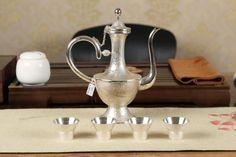 Cunsilver Brand Silver Coffee Pot, wine kettle