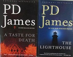 Author PD James Two Book Bundles Includes: A Taste For Death and The Lighthouse Resale Store, Hard To Find, Textbook, Lighthouse, Household, Death, Author, Electronics, Amazon