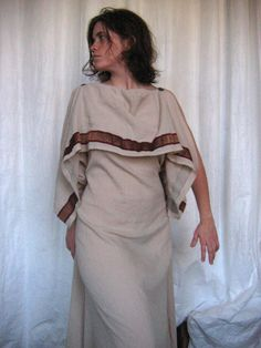 300 - Greek peplos (full-body) - 300 - Greek woman