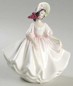 Royal Doulton Royal Doulton Figurine Sunday Best-Pink - No Box