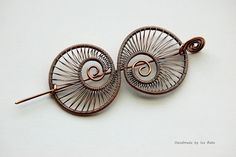 Nautilus Shawl Pin by izabako, via Flickr