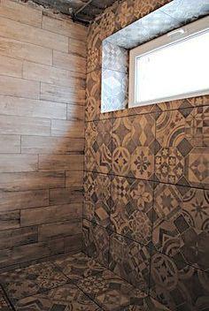 Укладка плитки на пол и стены в душе - Лютеж