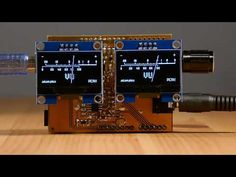 OLED VU meter Arduino shield — Just the Two of Us - YouTube Arduino Projects, Electronics Projects, Arduino Shield, Science And Technology, Sick, Two By Two, Coding, Display, Digital
