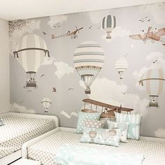 Nursery wallpaper ideas wallpaper for baby boy room we just need to know the measure of Baby Boy Room Decor, Baby Room Design, Baby Bedroom, Baby Boy Rooms, Nursery Room, Girl Room, Kids Bedroom, Nursery Ideas, Room Ideas