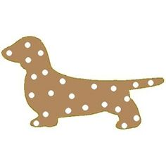 Silhouette Weenie Dog Applique - 3 Sizes!   Tags   Machine Embroidery Designs   SWAKembroidery.com Band to Bow