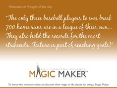 From Magic Maker™ Motivational Program for at-risk youth and mentoring groups