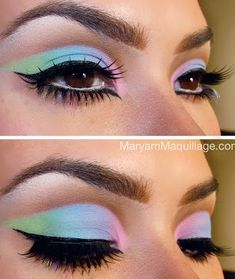 Green Blue Pink
