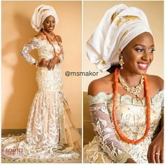Traditional Nigerian Bride ~Latest African Fashion, African Prints, African fashion styles, African clothing, Nigerian style, Ghanaian fashion, African women dresses, African Bags, African shoes, Kitenge, Gele, Nigerian fashion, Ankara, Aso okè, Kenté, brocade. ~DK
