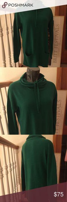 Phillip Lim Cashmere Emerald Tunic Sweater Gorgeous Emerald Green Designer Cashmere Sweater. Sz M. Perfect condition 3.1 Phillip Lim Sweaters