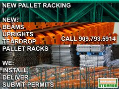 We can fill your warehouse with high-quality teardrop pallet racks. Our pallet racks come in all sizes, colors, and gauges. We can deliver and install your new pallet racks in no time.   You can reach us at 909-793-5914  or  Click www.industrialstoragesolutionsinc.com