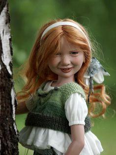 Samantha's Presents Amber-Rose by Nicole Marschollek-Menzner - 2014 Zwergnase Dolls