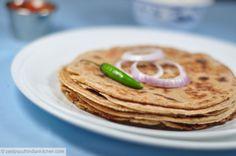 Rajgira aloo roti: Amaranth flour and potato flat bread: Gluten and Vegan Free: Diabetic Friendly - Zesty South Indian Kitchen