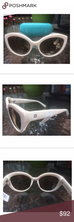 """🌺NEW! Kate Spade """"Sherrie"""" Cat Eye Sunglasses Sleek and chic, these retro inspired sunglasses with gradient lenses will out a glamorous polish to any look!                                                    100% UV protection, CR-39 lenses, Acetate.         100% Authentic Kate Spade item.                          NEW with tags. kate spade Accessories Sunglasses"""