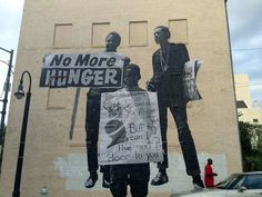 JR New Murals In Atlanta, USA