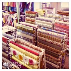 The remarkable in-stock collection of home fabrics and trims, from all over the world, covers most decorating styles from traditional to contemporary, French to Asian to Arts & Crafts. Even children's designs. For formal living or casual chic. Intensely colored or quietly neutral.There are chenilles, crewels, matelassés, velvets, tapestries, suedes and damasks. Yarn-dyed coordinated stripes and checks; crinkled silks; textured sheers; and cotton solids, patterns, embroideries, and prints.