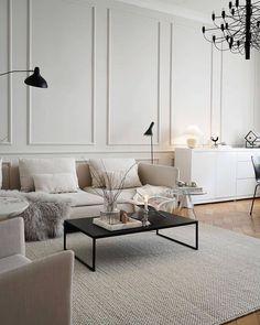 Living Area, Living Room, Dining Bench, Beautiful, Interior Design, Instagram, Furniture, Home Decor, Cornices