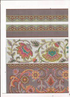 Сумка Восточные цветы схема 4