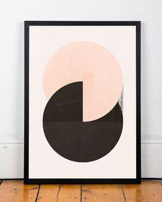 Aquarell print abstrakte Kunst zu drucken von ShopTempsModernes