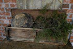 Beautiful old bowl and box