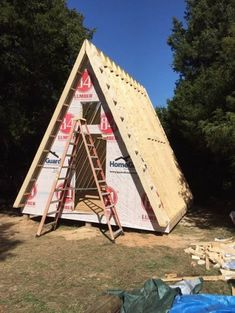 If you're looking to build a simple tiny A-frame cabin, I thought you might like these plans by LaMar Alexander of Simple Solar Homesteading. These plans include a detailed 30 page ebook full…