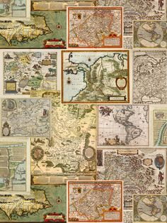 cartography fabric by ravynka on Spoonflower - custom fabric