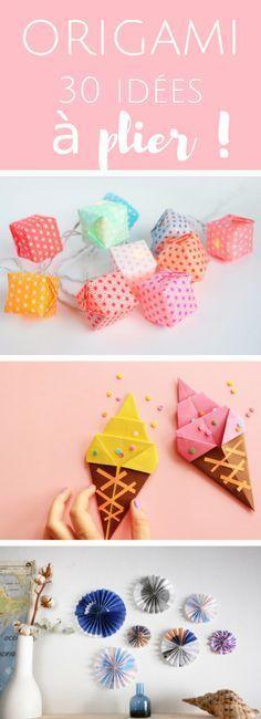 Si plier du papier ne vous fait pas peur, voici 30 idées d'origami à réaliser ! Plus