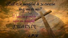 JESÚS PAN Y VIDA: Entrega todos tus problemas en las manos del Señor...