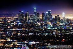 City Lights At Night city photography