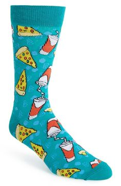 Topman 'Pizza and Pop' Socks
