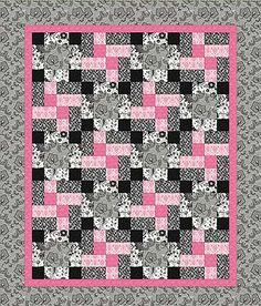 Charm Pack Quilt Patterns - Charm Square Quilting Patterns