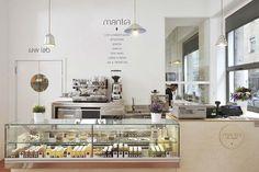 Restaurante vegano Mantra en Milán, Branding y diseño interior de Supercake