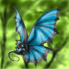 Dragon butterflyDragon Fantasy Myth Mythical Mystical Legend Dragons Wings Sword Sorcery Magic