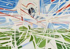 """Paul Brainard, """"Telephone # 6,"""" 2010, oil on canvas"""