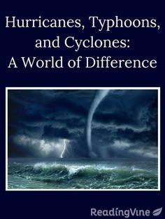 Great reading comprehension activity for middle schoolers! What's the difference in a hurricane, a typhoon, and a cyclone? Your students will read the passage and answer questions. ReadingVine.com is free too.
