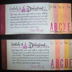 Old Disneyland tickets