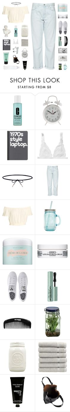"""we just don't eat and we're socially relevant"" by nothing-like-outerspace ❤ liked on Polyvore featuring Clinique, J.Crew, Monki, Lilou, French Connection, ALADDIN, La Mer, Kiehl's, adidas and Too Faced Cosmetics"