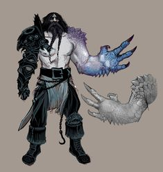 ArtStation - Marauders and Warriors, Ted Beargeon Fantasy Character Design, Character Concept, Character Art, Concept Art, Dungeons And Dragons Characters, Dnd Characters, Fantasy Characters, Warhammer Art, Warhammer Fantasy