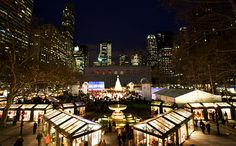 The Rink at the Bank of America Winter Village at Bryant Park ...