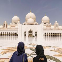 The Grand Mosque one of the finest structures in Abu Dhabi. Sheikh Zayed imagined a place of worship that would help people come together understand Islam and see it as a religion that has a message of peace tolerance and diversity.