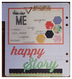 Mini album made with the #epiphanycrafts Shape Studio Tool Hexagon www.epiphanycrafts.com #americancrafts #dearlizzy #scrapbook