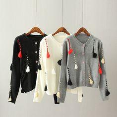 LA Casual Short Sweater