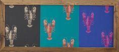 """Bestell Nr. 013 Portobello Rasch-Textil Papiertapete Bild """"Langusten"""" Quer Gross. Grösse 1630 mm x 720 mm   CHF. 340.00"""
